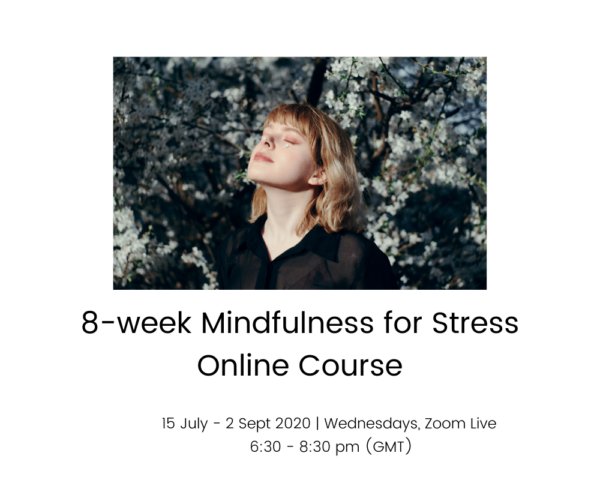 8week Mindfulness for Stress course - 15 july - 2 Sept