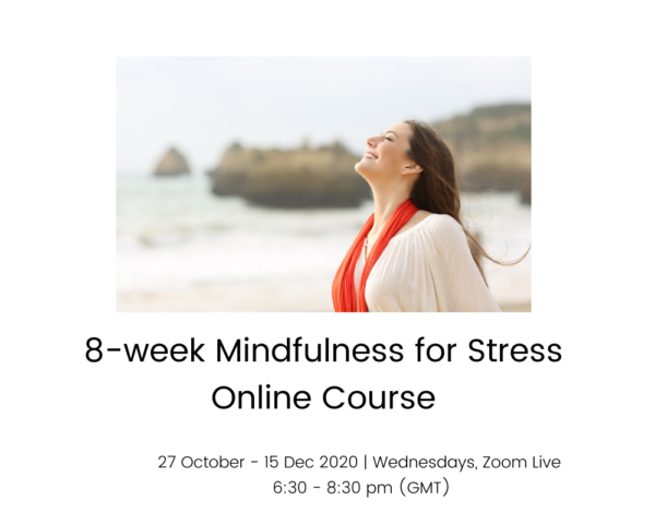 8week Mindfulness for Stress course - 27 Oct 15 Dec