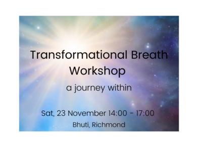 Transformational Breath workshop